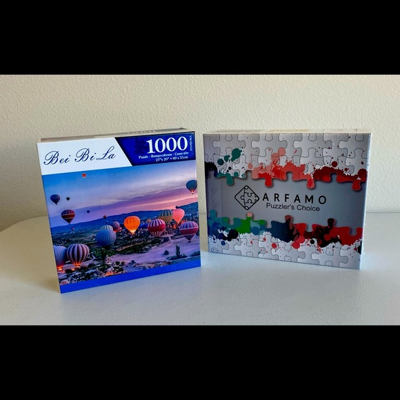 Bundle of 2 Puzzles for Adults Piece Jigsaw Puzzle